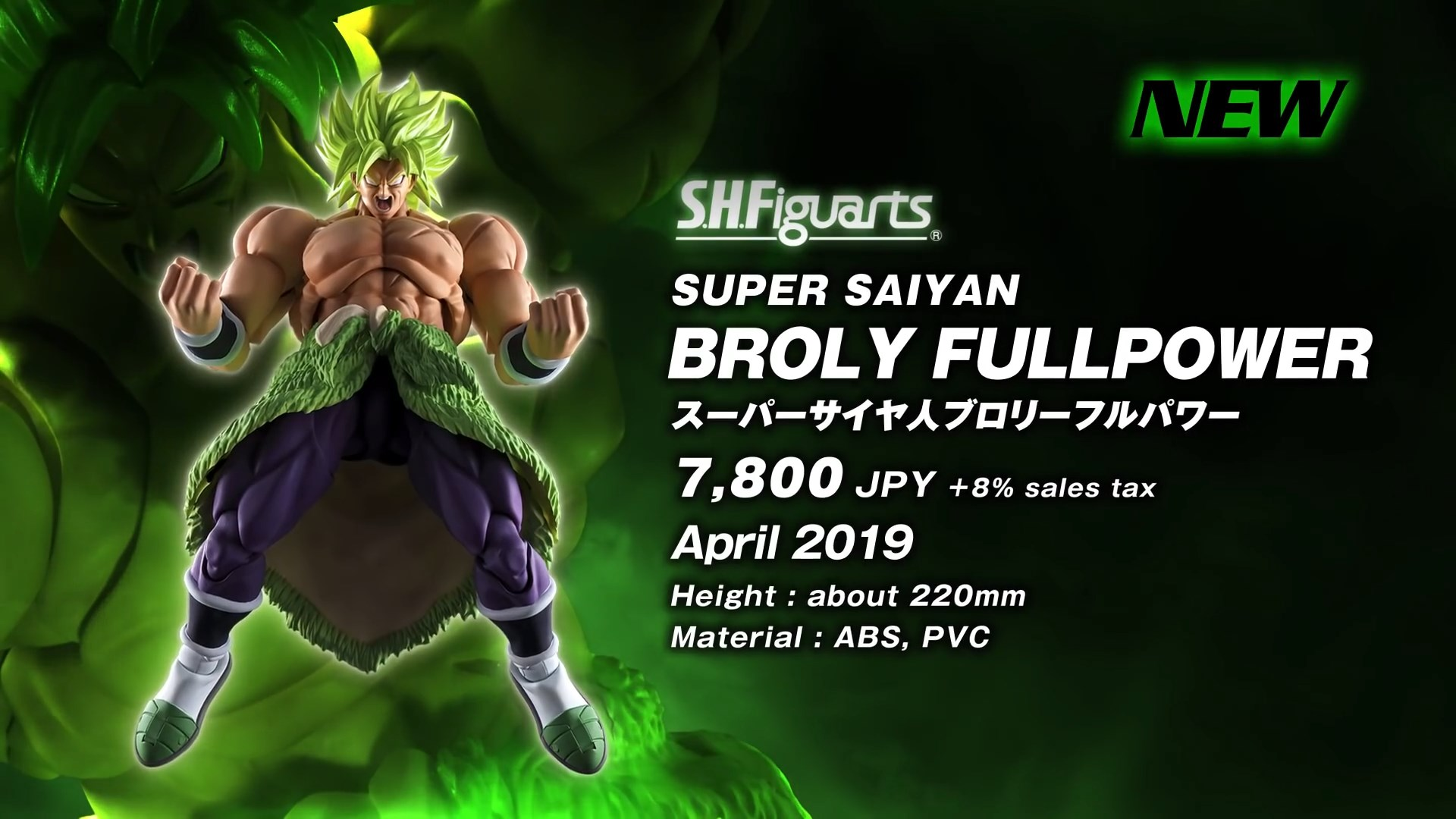S.H.Figuarts Broly Super Saiyan Full Power