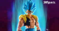 S.H.Figuarts de Gogeta Blue, Broly Full Power et Vegeta Blue annoncées