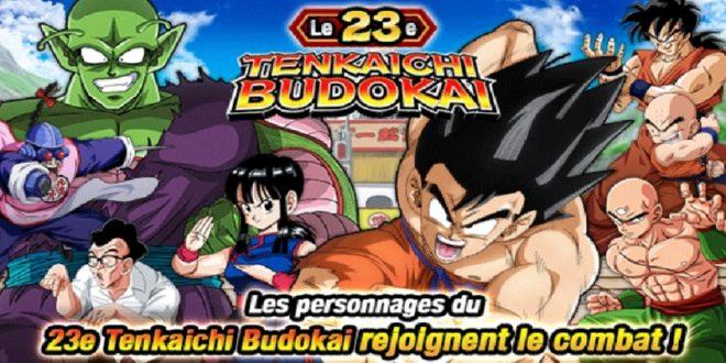 Le 23ème Tenkaichi Budokai dans Dragon Ball Z Dokkan Battle a commencé