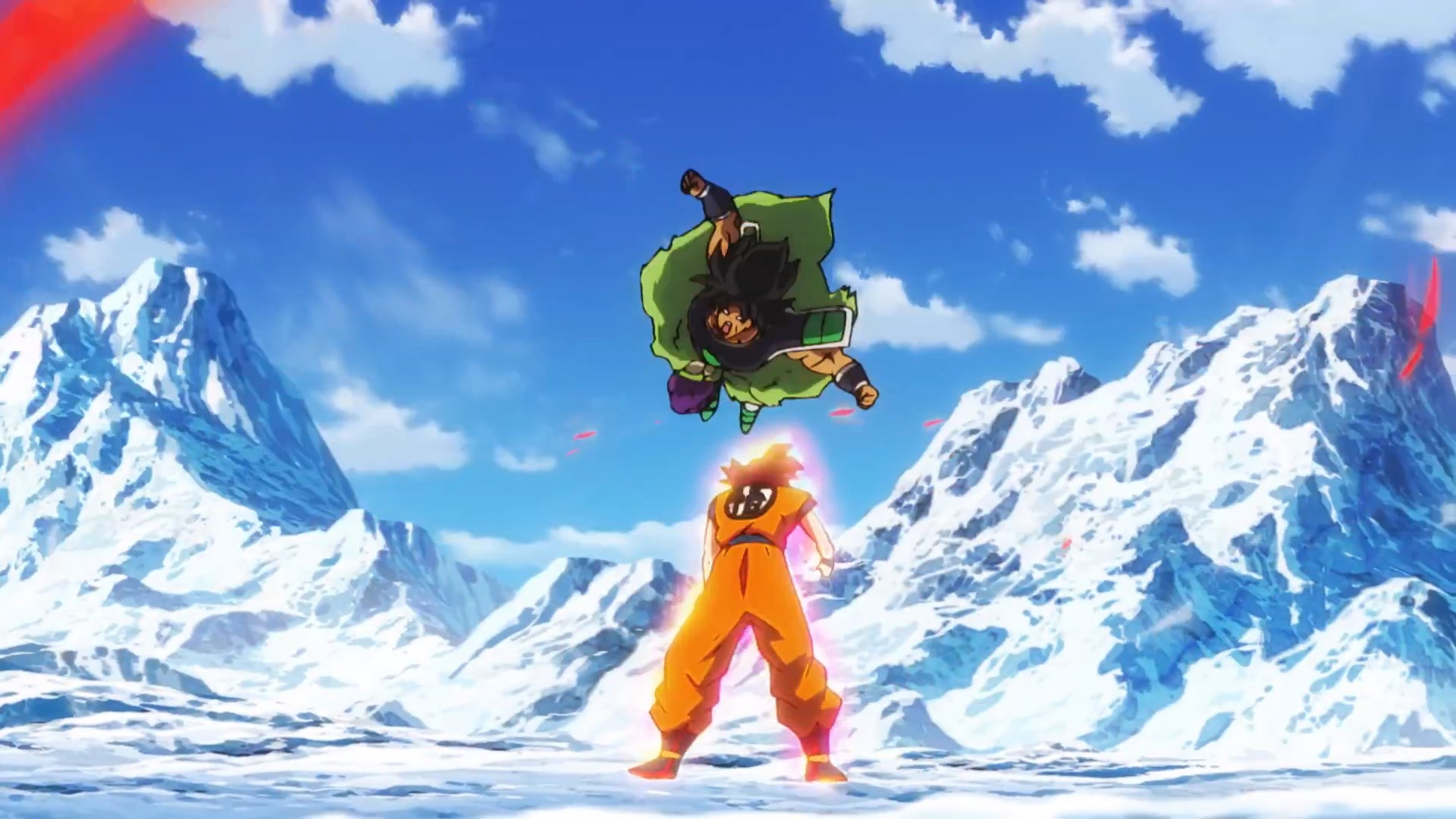 Dragon Ball Super Broly : Goku Super Saiyan God VS Broly