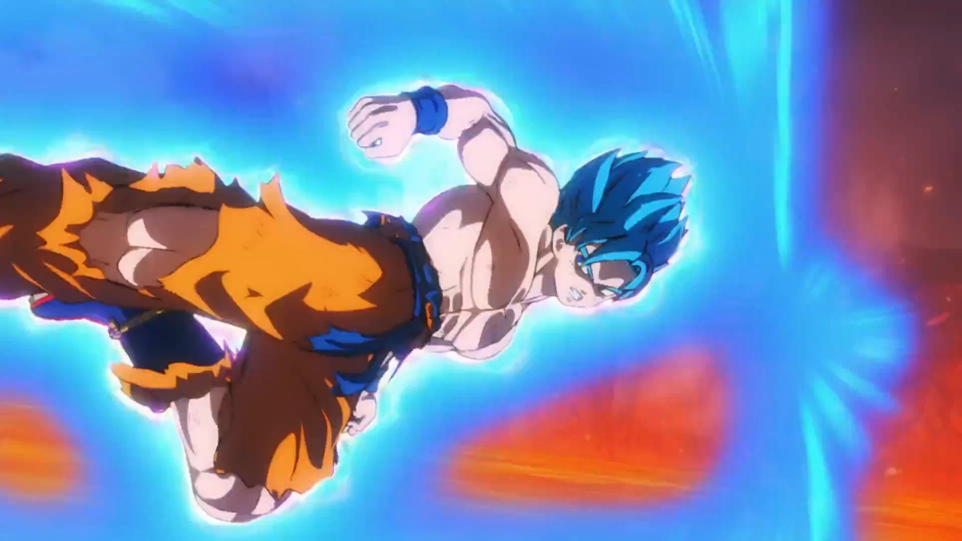 Dragon Ball Super Broly : Goku Super Saiyan Blue VS Broly