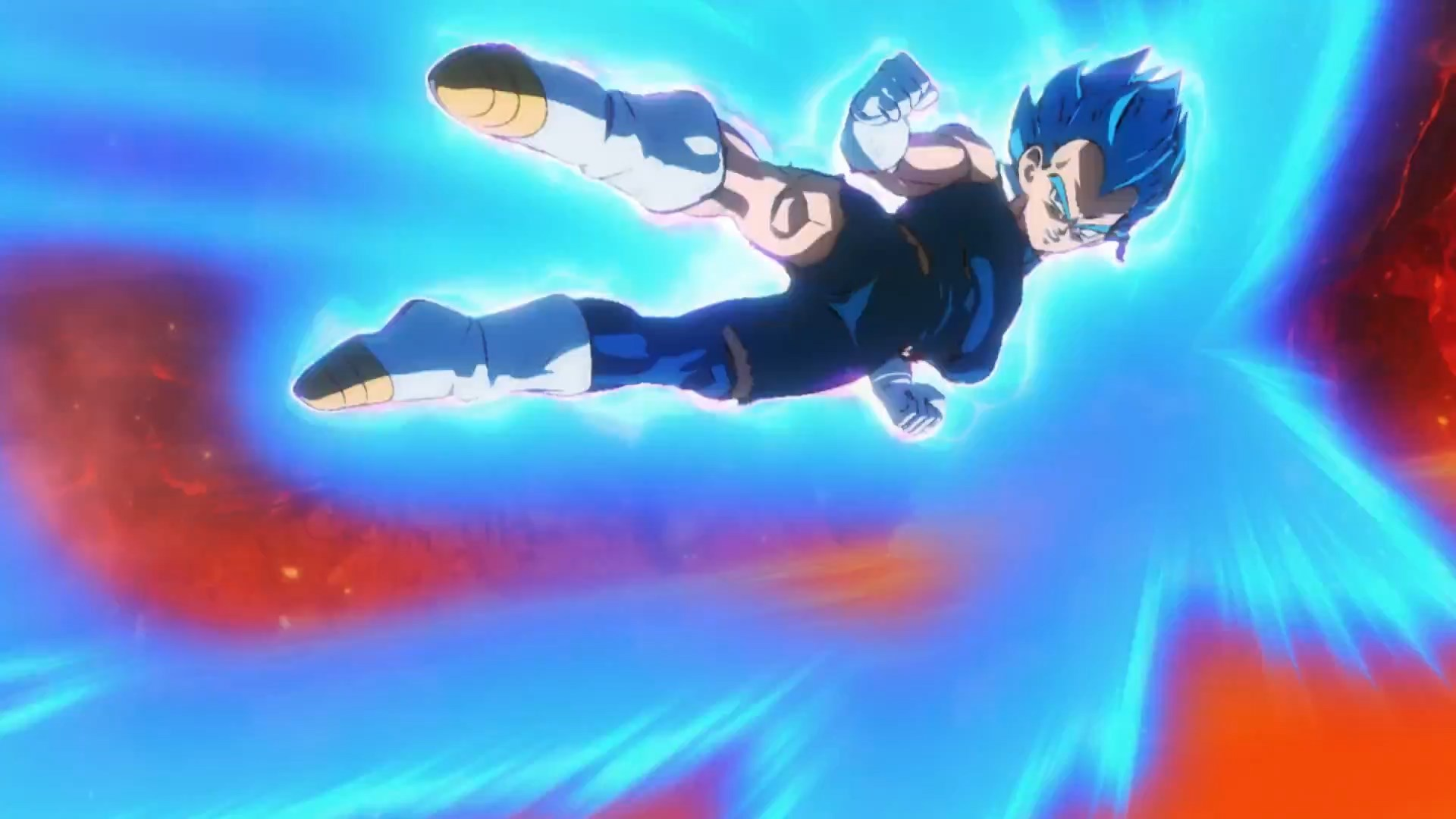 Dragon Ball Super Broly : Vegeta Super Saiyan Blue VS Broly