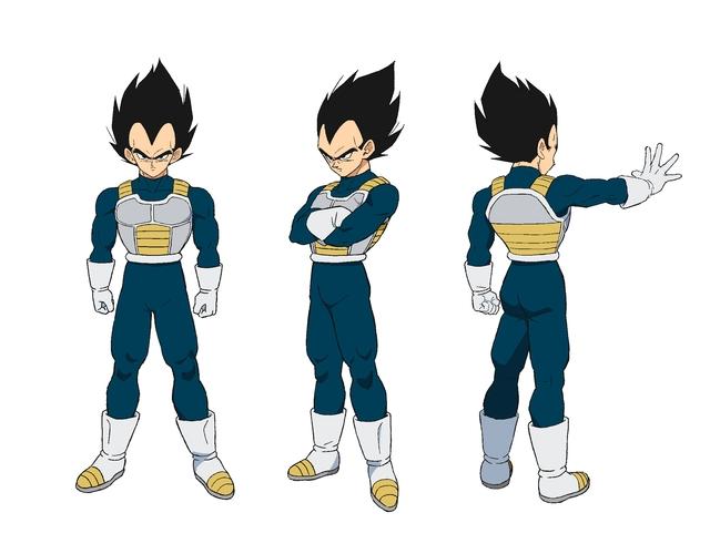 Dragon Ball Super BROLY : Character Design de Vegeta