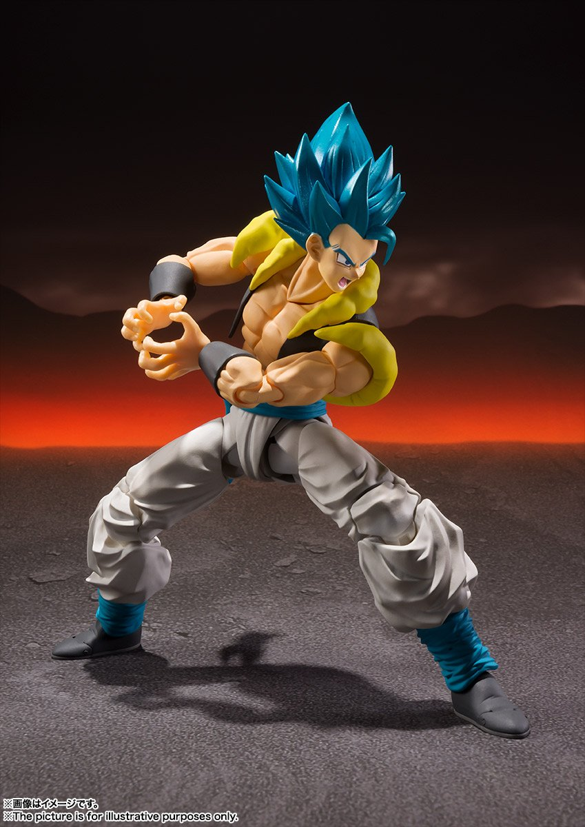 S.H.Figuarts Dragon Ball Super Broly Gogeta Super Saiyan Blue (SSGSS)