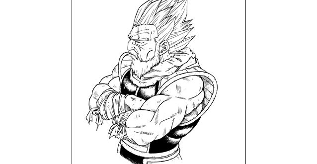 L'artwork de Toyotaro de novembre 2018 pour le site officiel de Dragon Ball – Paragus