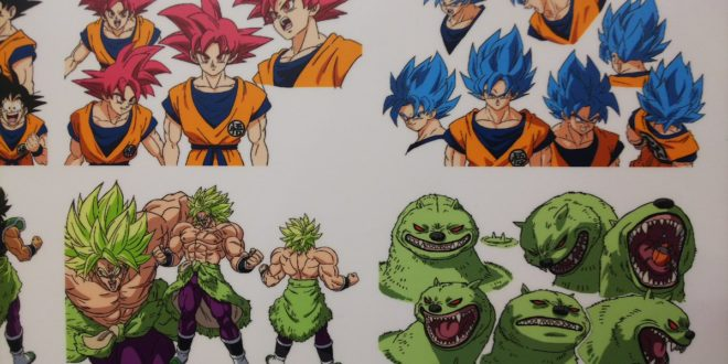 Dragon Ball Super BROLY : Encore de nouveaux chara designs de Shintani