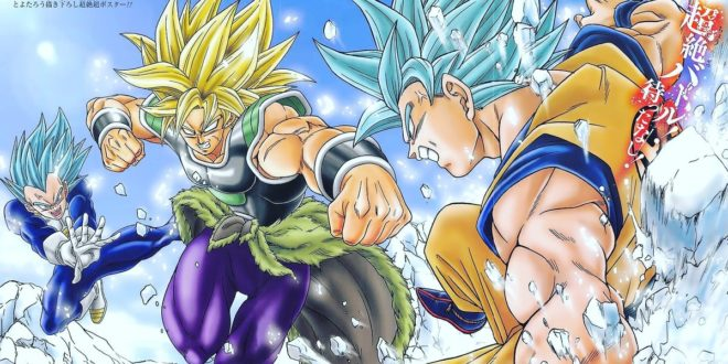 Dragon Ball Super Broly Nouvelle Interview De Toyotaro Et Masako
