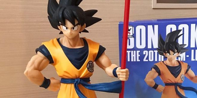 UNBOXING de la figurine SON GOKU THE 20TH FILM LIMITED