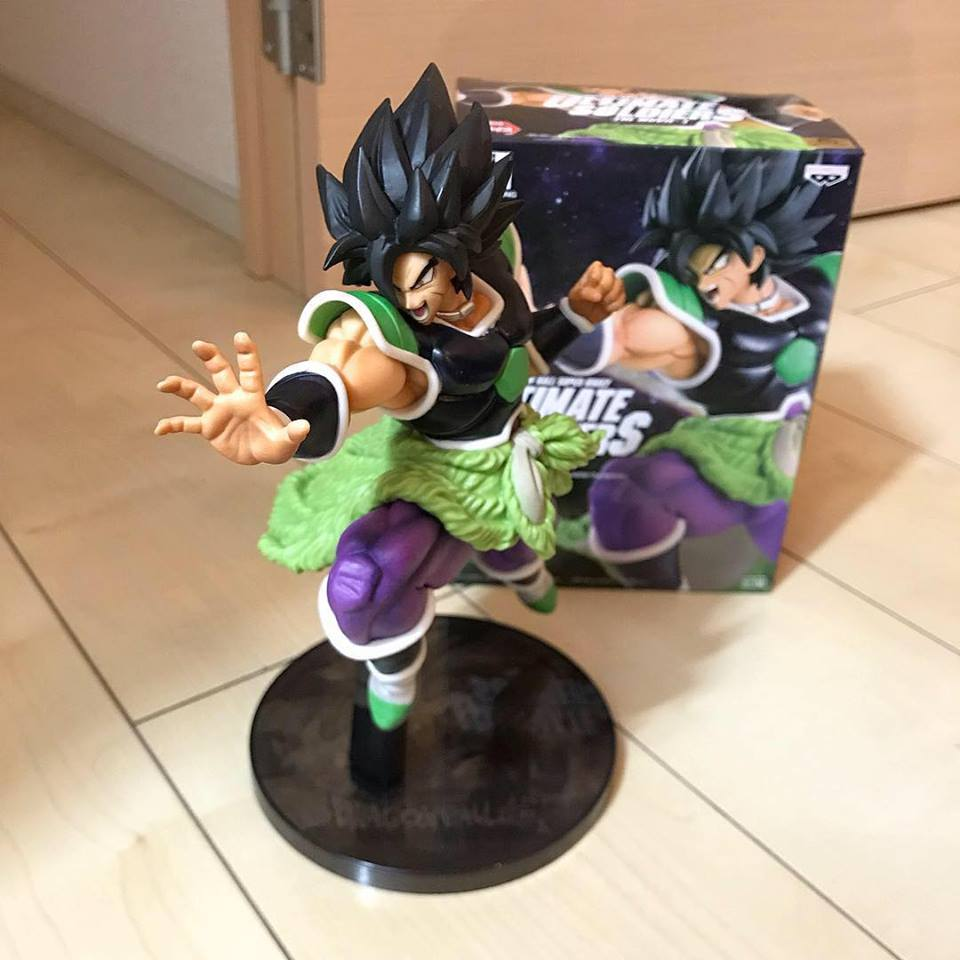 Unboxing de la figurine Dragon Ball Super BROLY ULTIMATE SOLDIERS THE MOVIE -Ⅰ