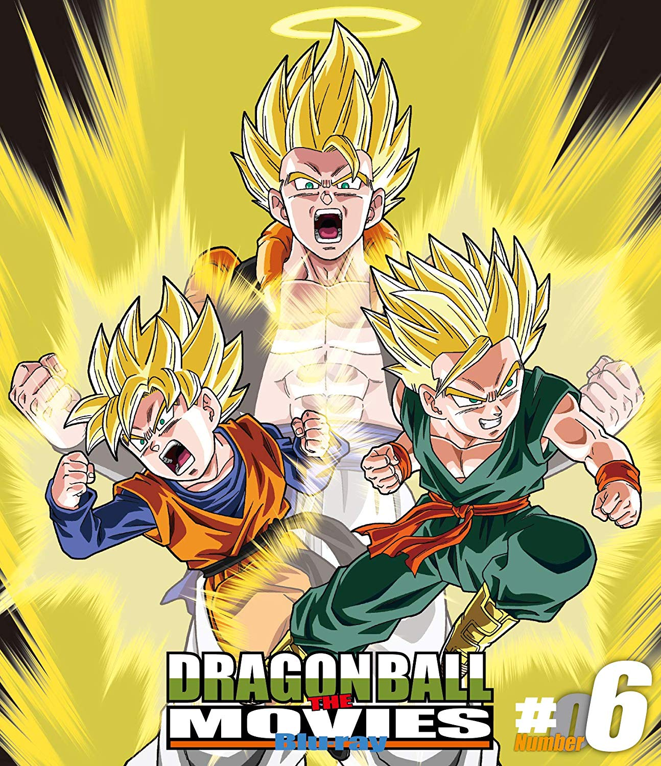 Dragon Ball The Movies Blu-ray Volume 6