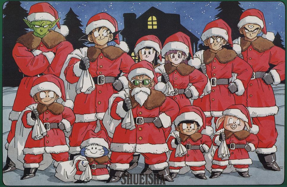 Presque toutes les œuvres d'Akira Toriyama – Semaine du 17 au 23 décembre - Z Warriors Santa Claus Christmas