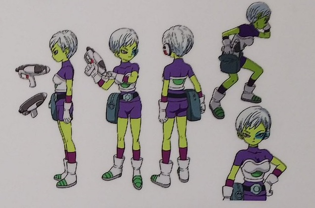 Dragon Ball Super Broly : chara design Cheerai