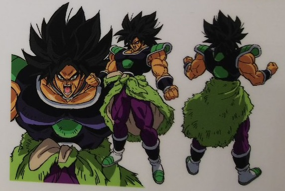 Dragon Ball Super Broly : chara design Broly Ikari