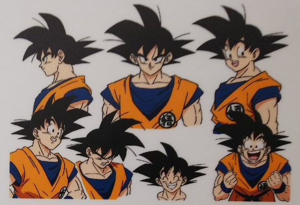 Dragon Ball Super Broly : chara design Goku