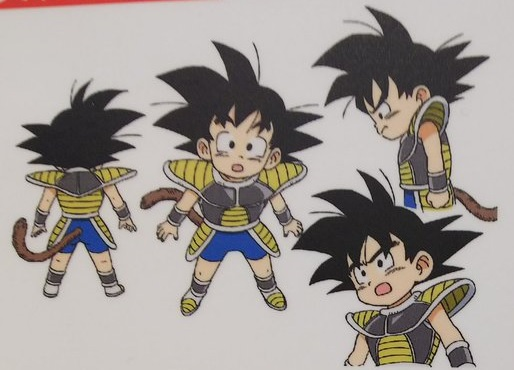 Dragon Ball Super Broly : chara design Goku enfant
