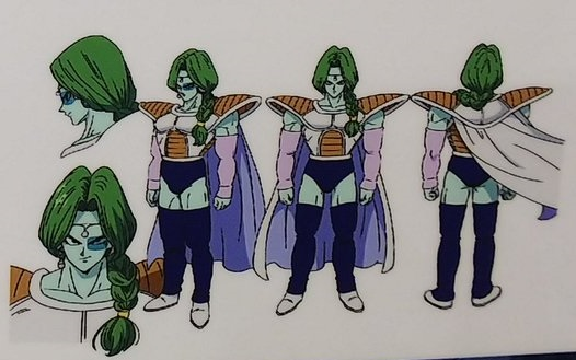 Dragon Ball Super Broly : chara design Zarbon