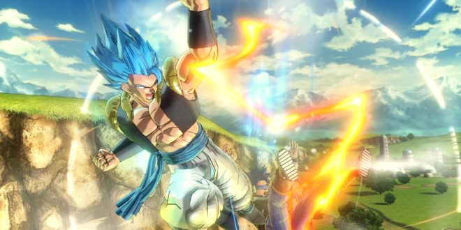 Gogeta Blue SSGSS Dragon Ball Xenoverse 2