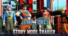JUMP FORCE : Un trailer pour le mode histoire