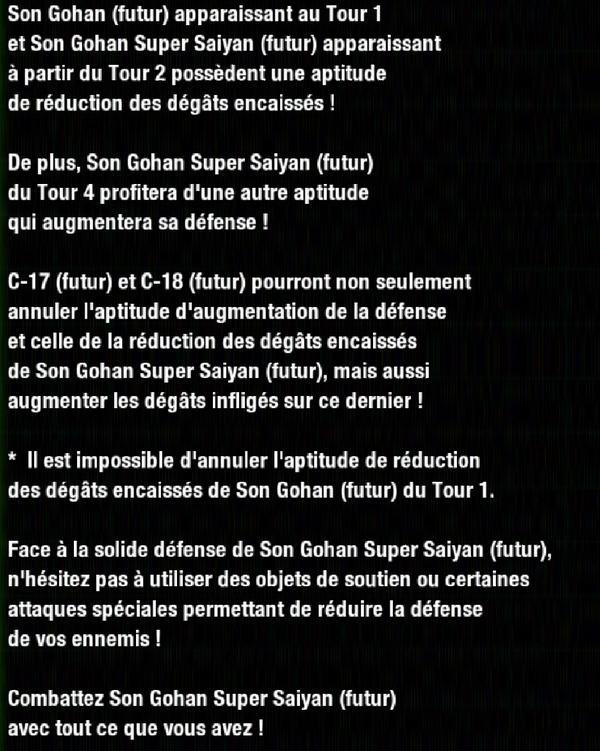 Dragon Ball Z Dokkan Battle : Gohan Espoir dans un futur déchiré par la guerre