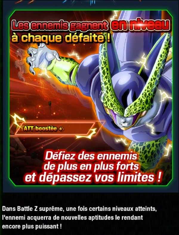 Dragon Ball Z Dokkan Battle : Perfect Cell - Battle Z Suprême