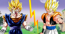 Qui est le plus fort dans Dragon Ball – Gogeta VS Vegetto – part 2