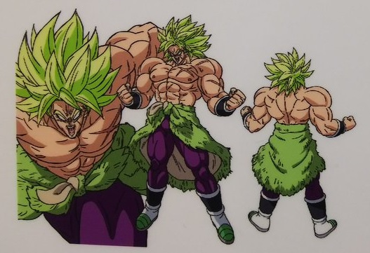 Dragon Ball Super Broly : chara design Broly SSJ Full Power