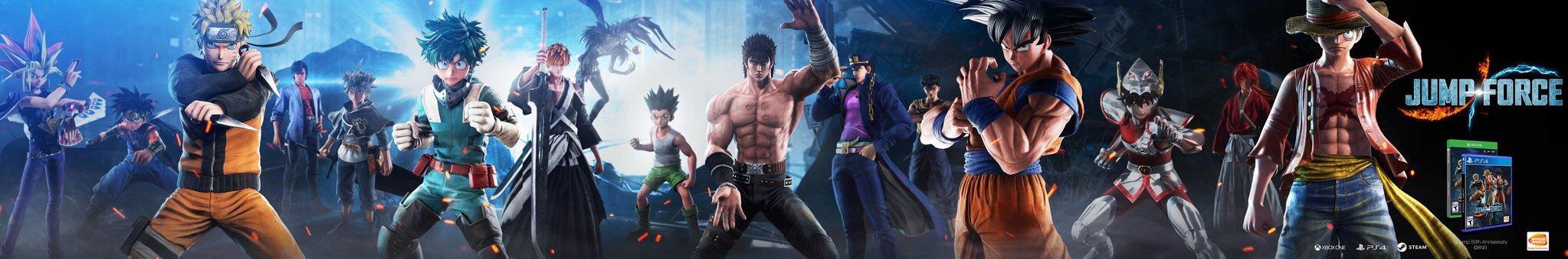 JUMP FORCE : Jotaro (Jojo's Bizarre Adventure) et Dai (Dragon Quest) seront de la partie