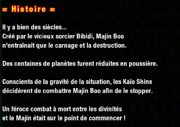 Dragon Ball Z Dokkan Battle : Combat Inconnu Les Dieux face à Boo