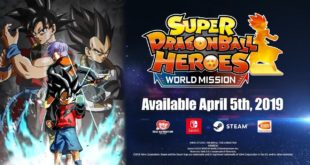 Super Dragon Ball Heroes World Mission : Une sortie internationale le 5 avril 2019 sur Switch et PC