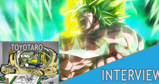 Interview de Toyotarō dans le Sports Nippon Dragon Ball Super Broly Times