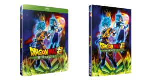 Dragon Ball Super BROLY en DVD et Blu-ray listé au 31 juillet 2019 en France