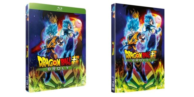 Dragon Ball Super BROLY en DVD et Blu-ray listé au 31 juillet 2019 en France
