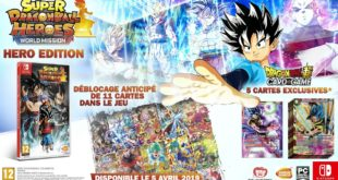 Super Dragon Ball Heroes World Mission : Une édition HERO annoncée sur Switch