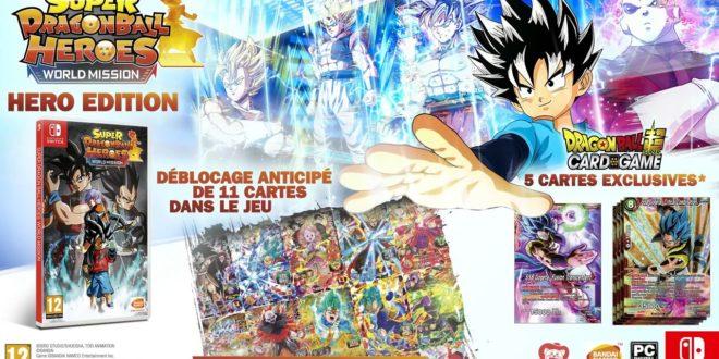 Super Dragon Ball Heroes World Mission : Une édition HERO annoncée sur Switch