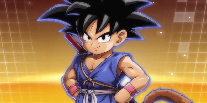 Dragon Ball FighterZ : Les statistiques de Goku enfant (GT)