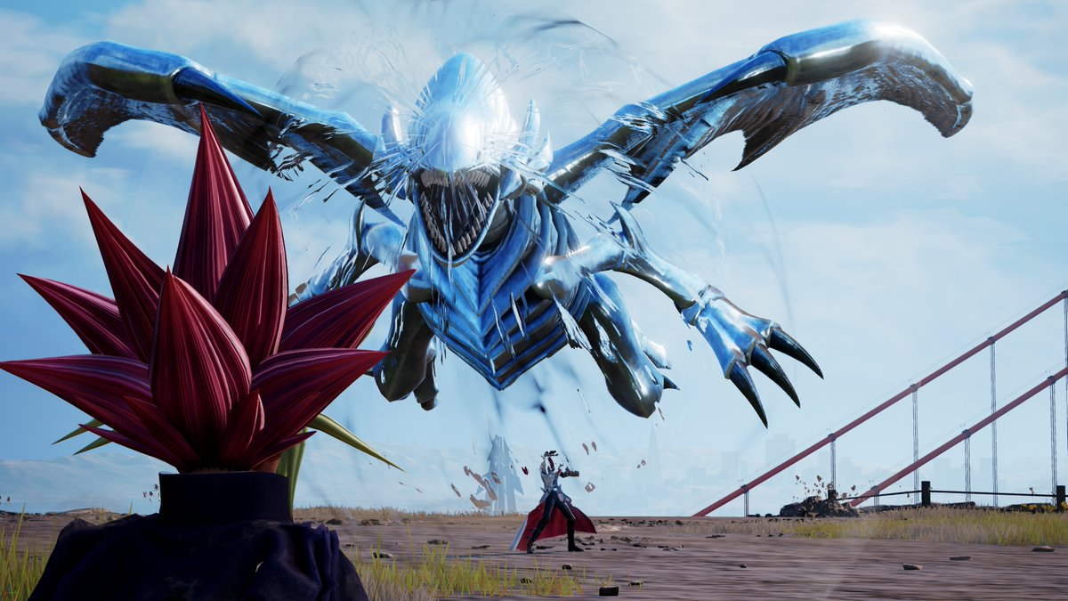 Jump Force Dragon Blanc aux Yeux Bleus Ultime