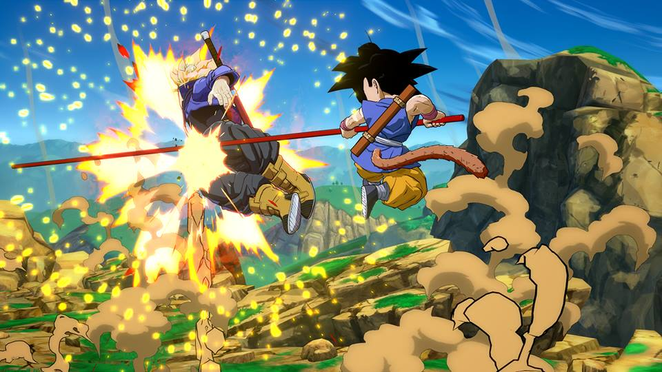 Dragon Ball FighterZ : Goku enfant (GT) en images