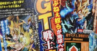 Dragon Ball Legends : Goku SSJ, Vegeta SSJ et Rild de DBGT annoncés