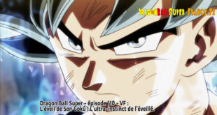 Dragon Ball Super Épisode 110 : Diffusion française