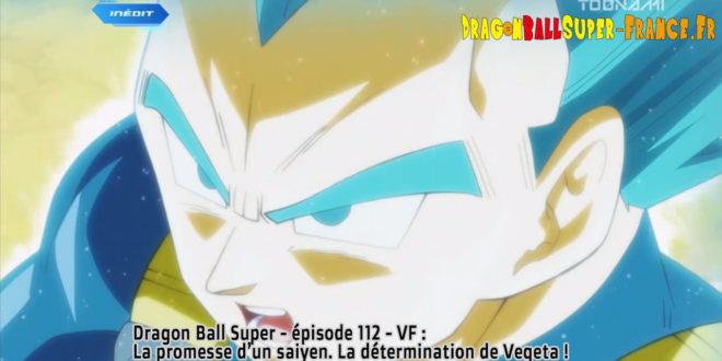 Dragon Ball Super Épisode 112 : Diffusion française