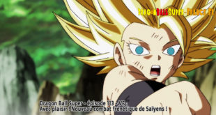 Dragon Ball Super Épisode 113 : Diffusion française