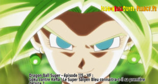 Dragon Ball Super Épisode 115 : Diffusion française