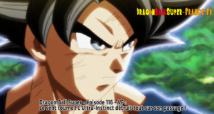 Dragon Ball Super Épisode 116 : Diffusion française
