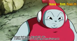 Dragon Ball Super Épisode 117 : Diffusion française