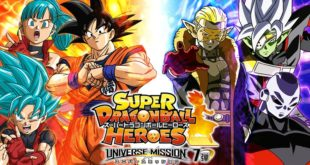 Super Dragon Ball Heroes : Lancement de la Universe Mission 7