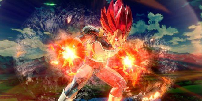 Dragon Ball Xenoverse 2 : Nouvelles images de Vegeta Super Saiyan God