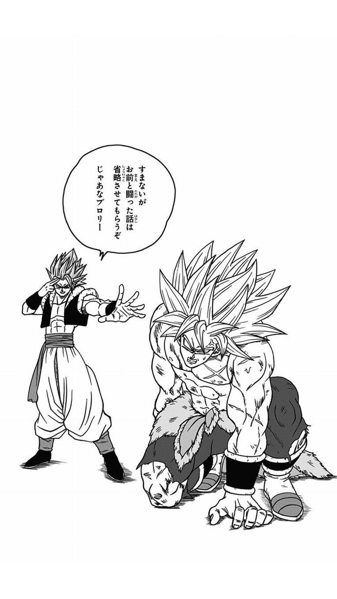 Dragon Ball Super Tome 9 : Gogeta et Broly by Toyotaro
