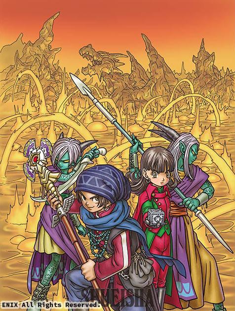 Presque toutes les œuvres d'Akira Toriyama – Semaine du 22 au 28 avril 2019 - Dragon Quest X