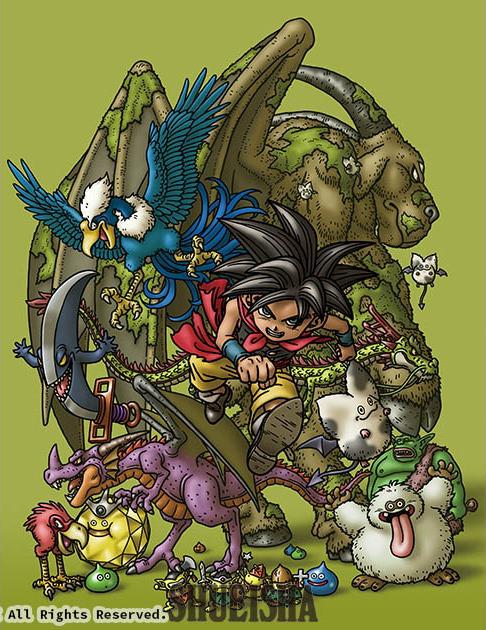 Presque toutes les œuvres d'Akira Toriyama – Semaine du 22 au 28 avril 2019 - Dragon Quest Monsters Joker 2