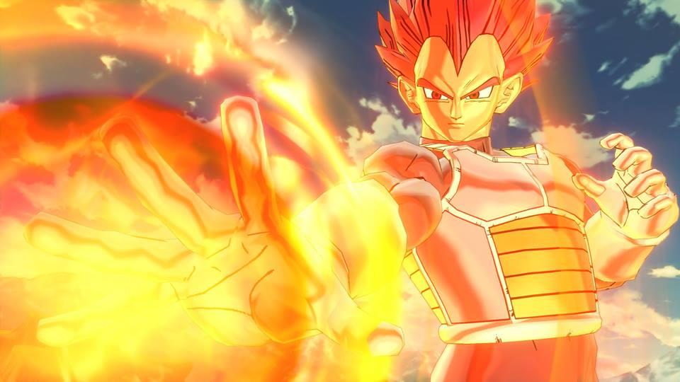 Vegeta Super Saiyan God : Blazing Attack